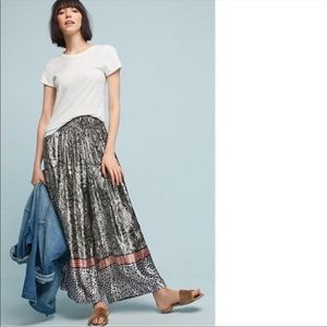Bl^nk Velvet Palazzo Pant from Anthropologie